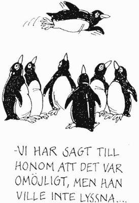 Pingviner kan...